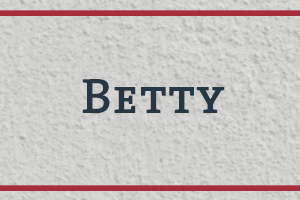 The Naming Project: Betty