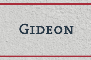 The Naming Project: Gideon