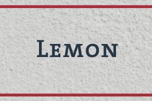 The Naming Project: Lemon