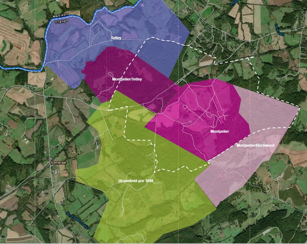 Montpelier–one property, many plantations