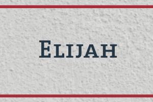 The Naming Project: Elijah