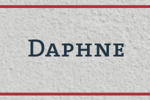The Naming Project: Daphne
